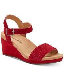 Lucky Brand Women's Kennette Wedge Sandals
