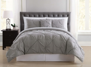Truly Soft Arrow Pleated Twin Xl Bed in a Bag Bedding