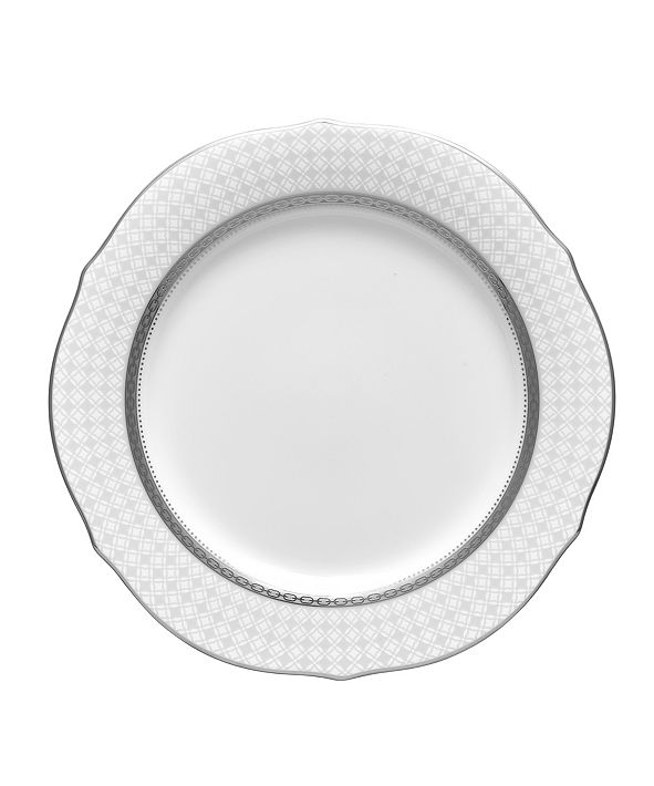 Noritake Rochester Platinum Accent Plate