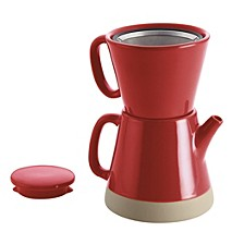 Ceramic Pour-Over 5-Cup Coffee Set