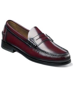 FLORSHEIM Men'S Berkley Penny Loafer Men'S Shoes in Burgundy