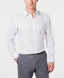 Club Room Men's Slim-Fit Stripe Dress Shirt, Created for Macy's