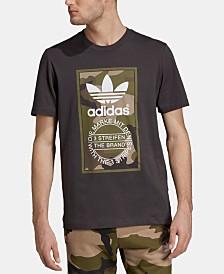 adidas Men's Printed-Logo T-Shirt