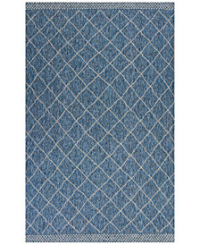 "KAS Farmhouse Rustico 6'7"" x 9'6"" Indoor/Outdoor Area Rug"