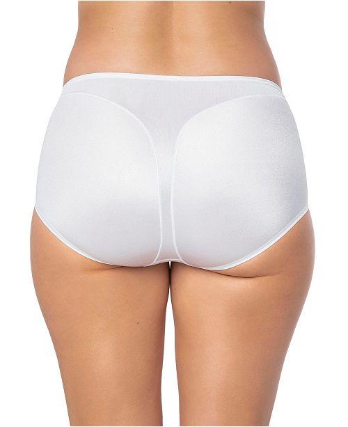 025222a483fc ... Leonisa Women's Light Tummy-Control Hi Cut Thong-Silhouette Panty 01214  ...