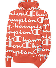 Champion Men's Giant Logo-Print Hoodie