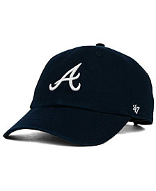 '47 Brand Atlanta Braves On-Field Replica CLEAN UP Strapback Cap