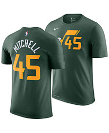 Nike Men's Donovan Mitchell Utah Jazz Earned Edition Player T-Shirt