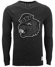 Retro Brand Men's Oregon State Beavers Mock Twist Long Sleeve T-Shirt