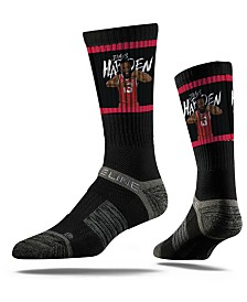 Strideline Houston Rockets James Harden Action Crew Socks