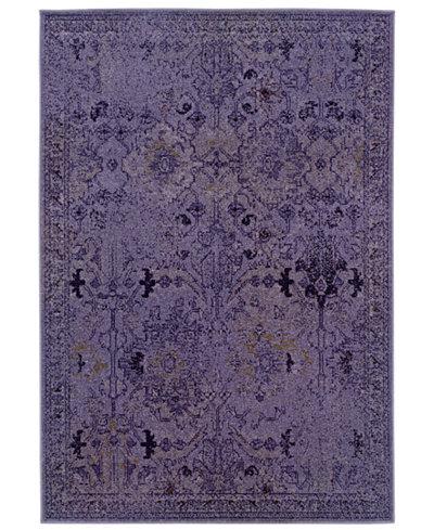 CLOSEOUT! Oriental Weavers Area Rug, Revamp REV7802M Violet 5'3