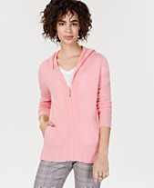 44657cf164 Charter Club Cashmere Zip-Front Hoodie