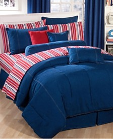 Karin Maki American Denim California King Comforter