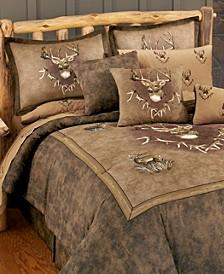 Blue Ridge Trading Whitetail Ridge Twin Comforter Set