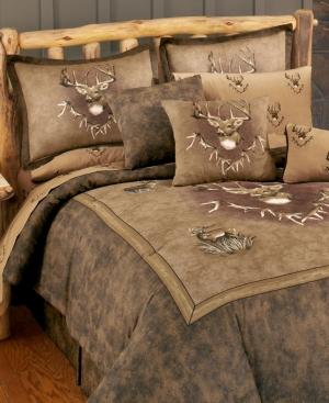 Blue Ridge Trading Whitetail Ridge Twin Comforter Set Bedding