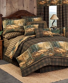 Blue Ridge Trading Whitetail Birch Queen Sheet Set