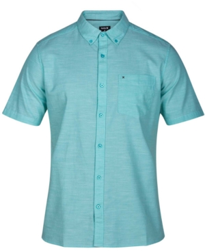 Hurley T-shirts MEN'S ONE AND ONLY 2.0 CHAMBRAY SHIRT