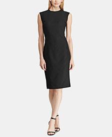 Lauren Ralph Lauren Slim Fit Sleeveless Dress