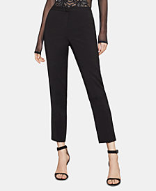 BCBGMAXAZRIA Straight-Leg Trousers