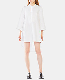 BCBGMAXAZRIA Cotton Shirtdress
