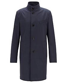 BOSS Men's Slim Fit Stretch Coat