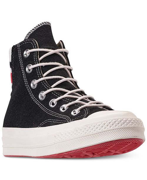 81bd943f6462 ... Converse Women s Chuck Taylor All Star 70 High Top Casual Sneakers from  Finish ...