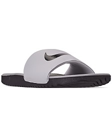 Nike Boys' Kawa Slide Sandals from Finish Line
