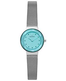 Women's Leonora Stainless Steel Mesh Bracelet Watch 25mm