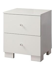 Marsh Modern 2-drawer Nightstand