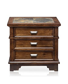 Marley 2-drawer Nightstand, Quick Ship