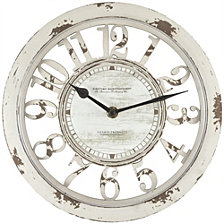 Firstime and Co. Antique Contour Wall Clock