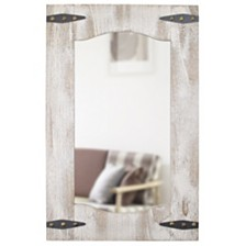 "Firstime and Co. 33.5"" Barn Door Mirror"
