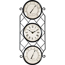 Firstime and Co. Bronze Allegri Outdoor Clock