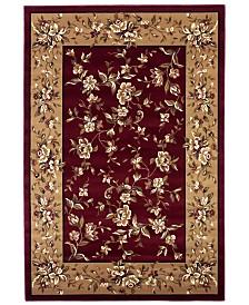 """KAS Cambridge Floral Delight 7'7"""" Octagon Area Rug"""