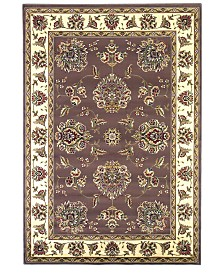 "KAS Cambridge Floral Mahal 3'3"" x 4'11"" Area Rug"