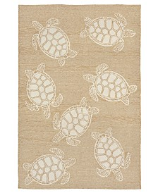 "Liora Manne' Capri 1634 Turtle 5' x 7'6"" Indoor/Outdoor Area Rug"