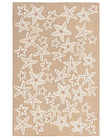 Liora Manne' Capri 1667 Starfish 2' x 3' Indoor/Outdoor Area Rug