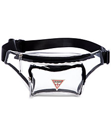 GUESS G Vision Clear Belt Bag