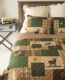 Green Forest Quilt Collection, King