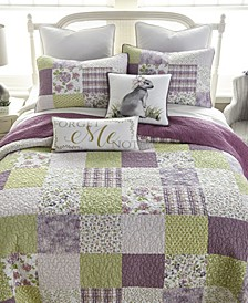 Forget Me Not Cotton Quilt Collection, Queen
