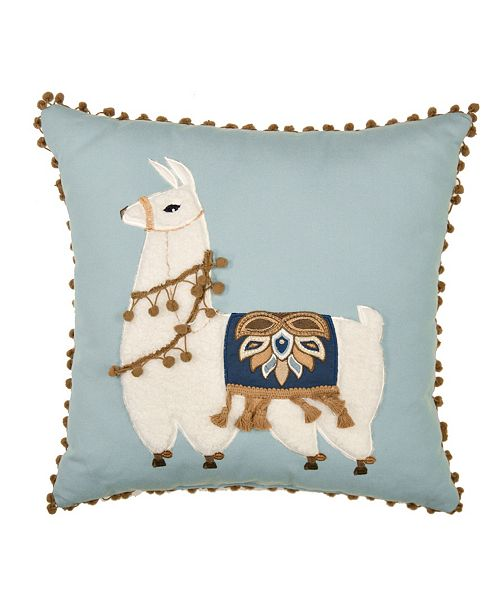 American Heritage Textiles Sienna Llama Decorative Pillow