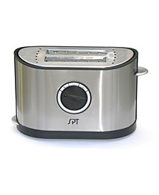 SPT 2-Slot Stainless Steel Toaster