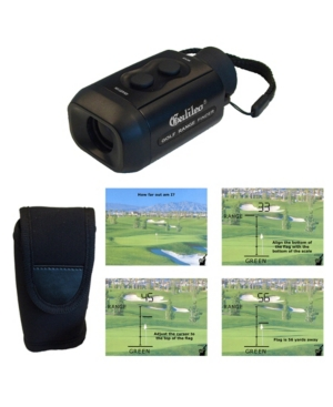 Galileo 7 Power Electronic Rangefinder Golf Scope with Rubber Eyecup and Case