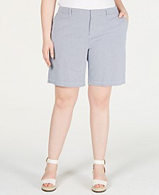 Plus Size Hollywood Chino Shorts, Created for Macy's