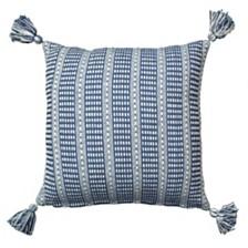 LR Home Flynn Creative Stripes Throw Pillow