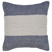 LR Home Geometric Striped Throw Pillow