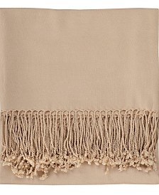Solid Bamboo Viscose Throw Blanket