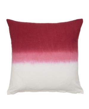 Dip Dye Cotton Decorative Pillow