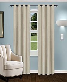 """Linen Textured Blackout Curtain, Set of 2, 52"""" x 108"""""""
