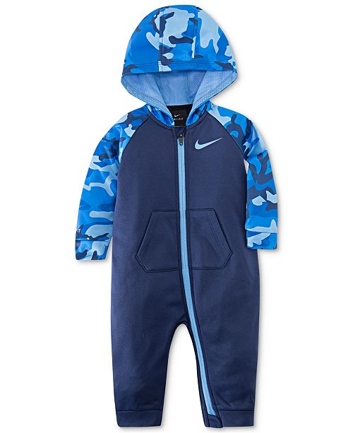 61905e08f Nike Baby Boys Camo-Print Therma Coverall   Reviews - All Baby ...